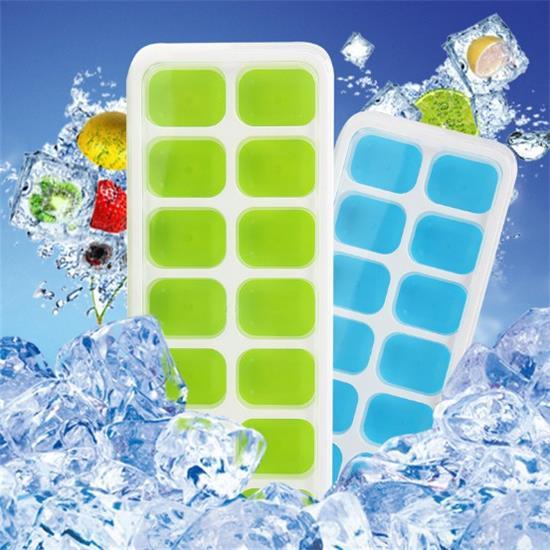 Silicone Ice Box 14 Grid