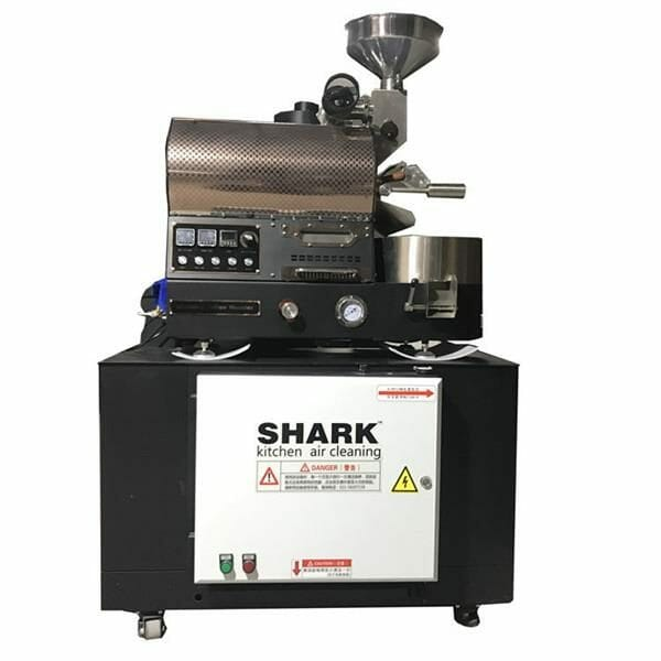 coffee roaster smoke cleaner machine