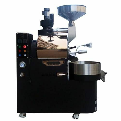 black rose gold mirror 3kg gas coffee roaster