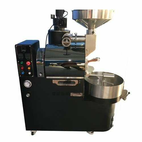 black 3kg gas coffee roaster