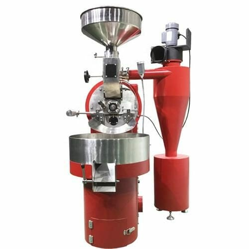red 6kg gas coffee roaster