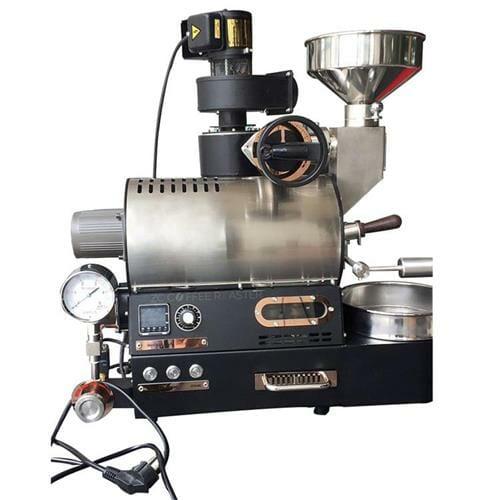 silver micro gas 300g coffee roaster