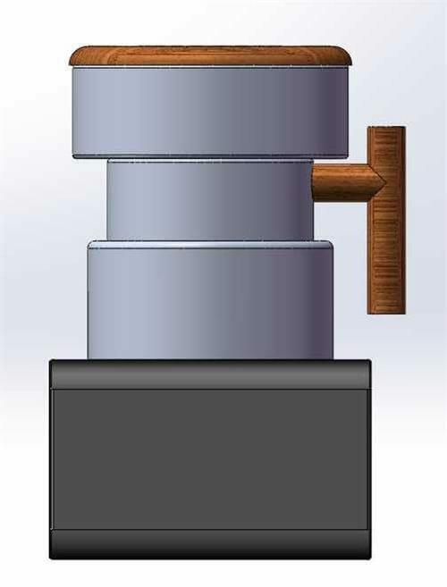 automatic sample roaster