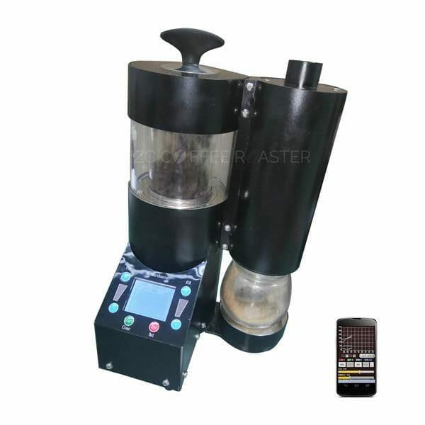 hot air sample coffee roaster